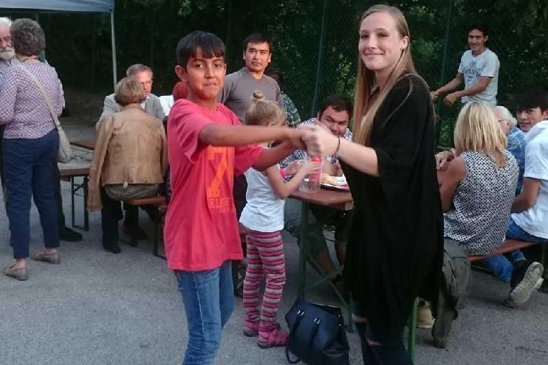 Familie Tajik war bei allen Gemeindefesten mit dabei und war bestens integriert. Foto: Initiative Langenzersdorf