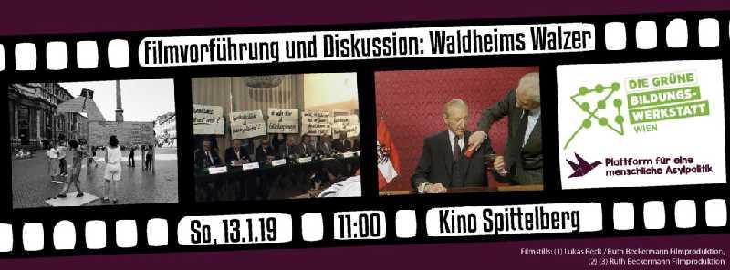 Filmvorführung Und Diskussion Waldheims Walzer